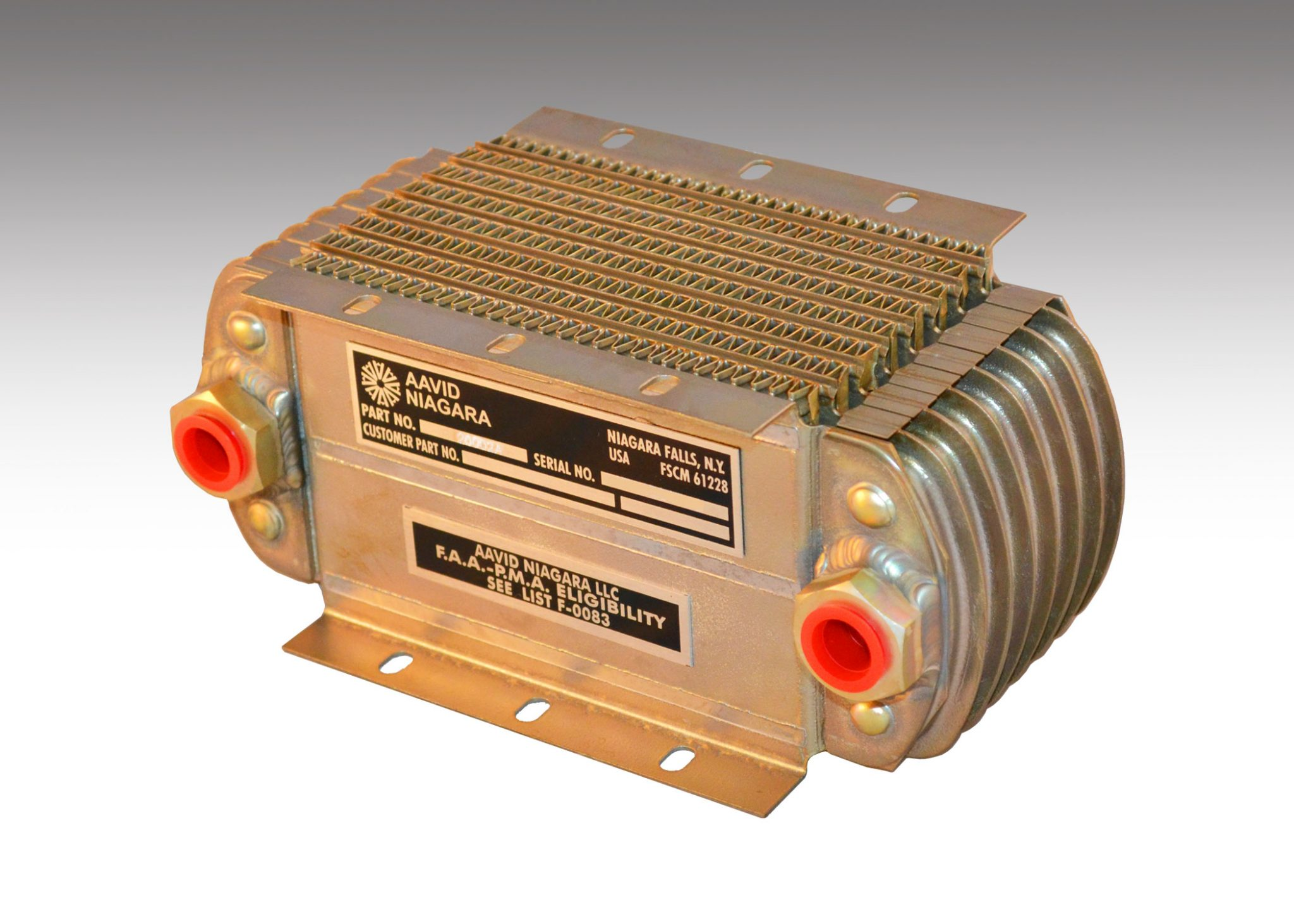 7 Row 2002A Oil Cooler NDM/NTP/AAVID