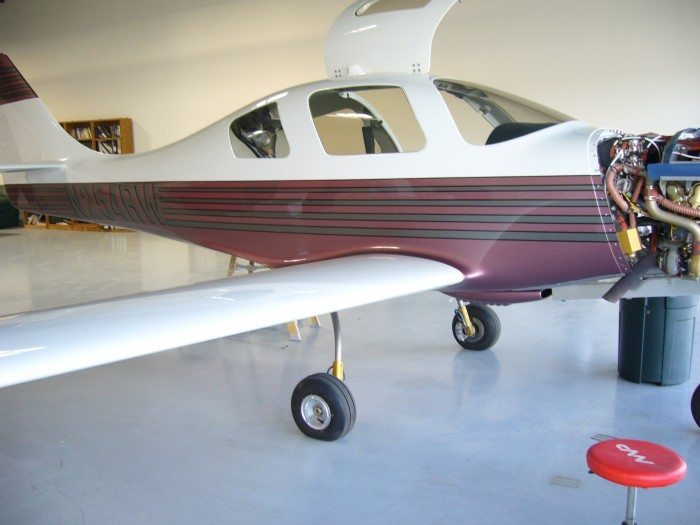 Lancair-IV air conditioning