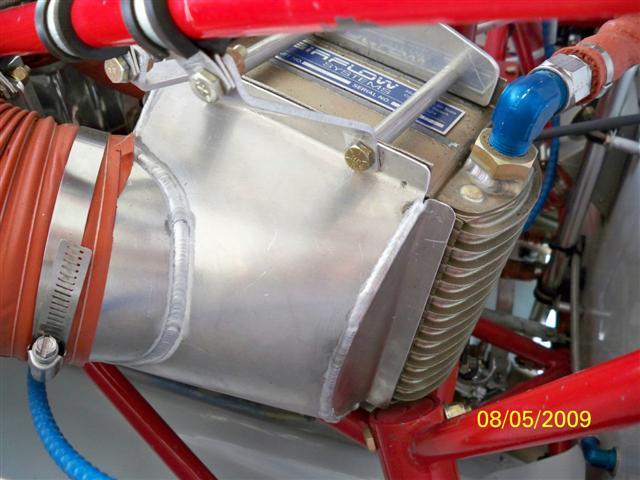 Aircraft oil cooler