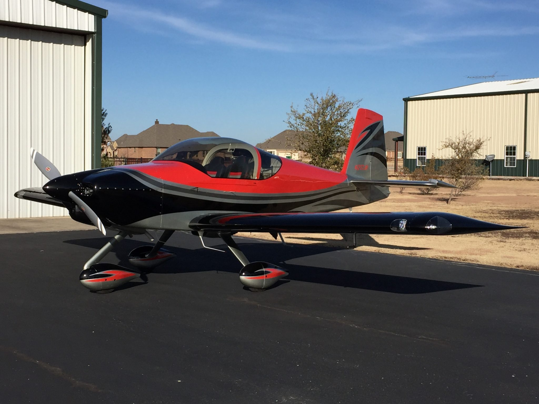 RV-14 featuring our RV-14 Airflow-Systems Air Conditioning System